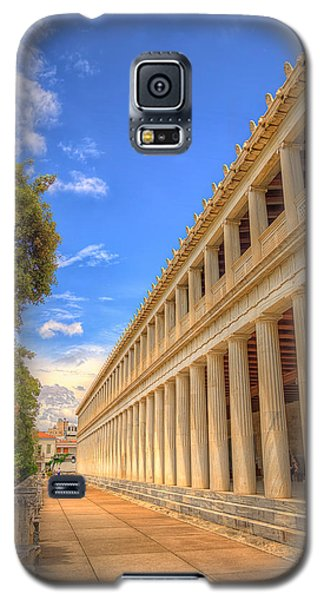 Galaxy S5 Case featuring the photograph Stoa Of Attalos by Micah Goff