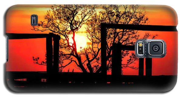 Stockyard Sunset Galaxy S5 Case