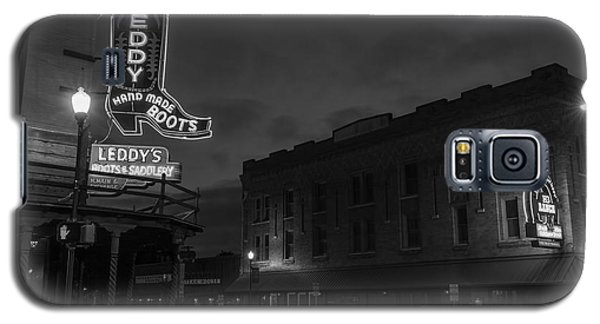 Stockyards Main And Exchange Bw Galaxy S5 Case