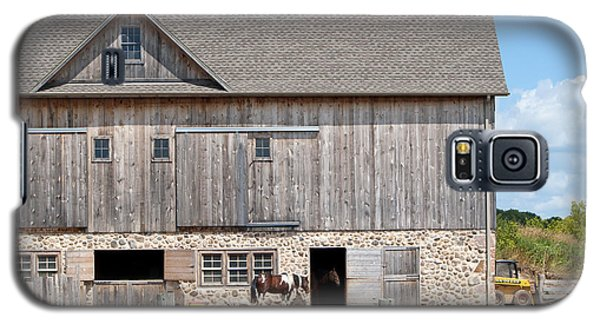Stone And Wood Barn Galaxy S5 Case