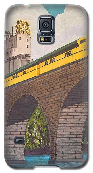 Stone Arch Bridge Galaxy S5 Case by Jude Labuszewski