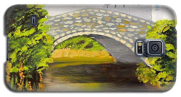 Stone Bridge At Burrowford Uk Galaxy S5 Case