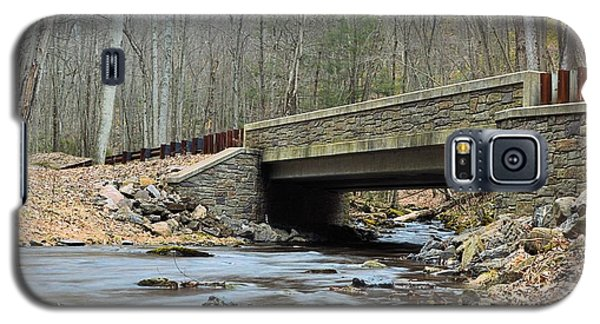 Stone Bridge At Cherry Run #1 - Bald Eagle State Forest Galaxy S5 Case
