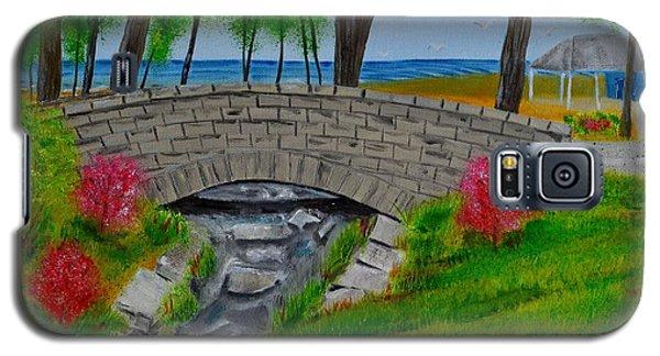 Stone Bridge Galaxy S5 Case by Melvin Turner