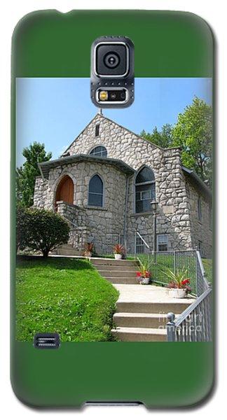 Stone Church Galaxy S5 Case by Ann Horn