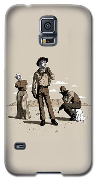 Stone-cold Western Galaxy S5 Case
