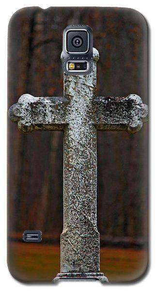 Stone Cross Galaxy S5 Case by Rowana Ray