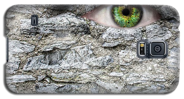 Stone Face Galaxy S5 Case by Semmick Photo