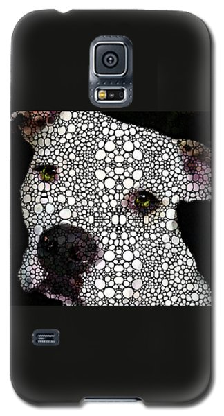 Bull Galaxy S5 Case - Stone Rock'd Dog By Sharon Cummings by Sharon Cummings
