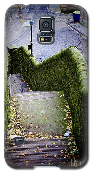Galaxy S5 Case featuring the photograph Stone Staircase by Craig B