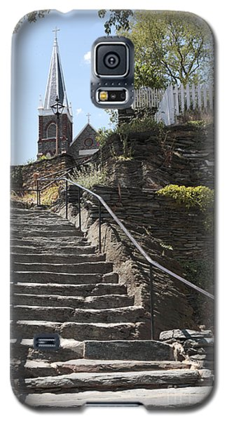 Stone Steps And Saint Peters Church At Harpers Ferry Galaxy S5 Case