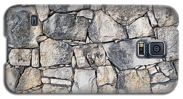 Stone Wall Texture Galaxy S5 Case by Antony McAulay