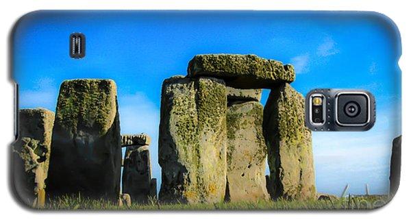 Stonehenge From The Earth Galaxy S5 Case by David Warrington
