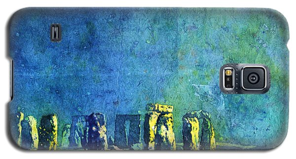 Stonehenge In Moonlight Galaxy S5 Case
