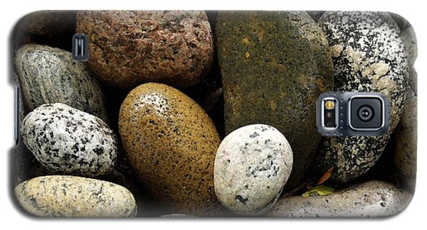 Galaxy S5 Case featuring the photograph Stones by Carol Sweetwood
