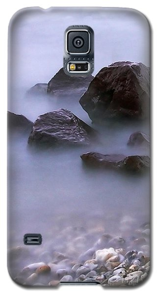 Stones In Lake  Galaxy S5 Case