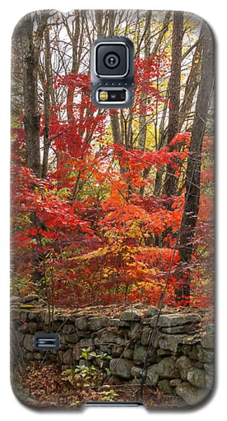 Galaxy S5 Case featuring the photograph Stonewall A Blaze by Dawn Romine
