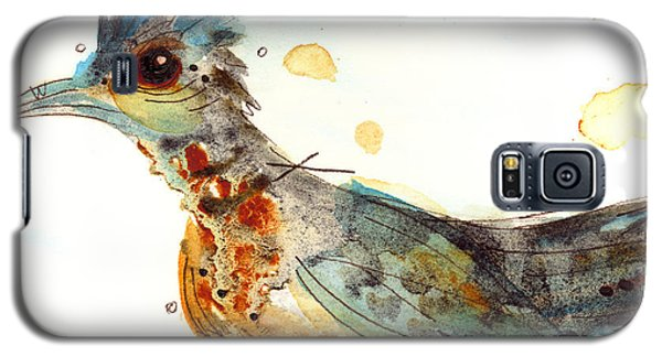 Stop And Smell What? Galaxy S5 Case by Dawn Derman