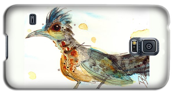 Roadrunner Galaxy S5 Case - Stop And Smell What? by Dawn Derman
