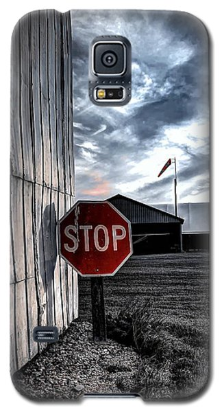 Stop Galaxy S5 Case by Michaela Preston