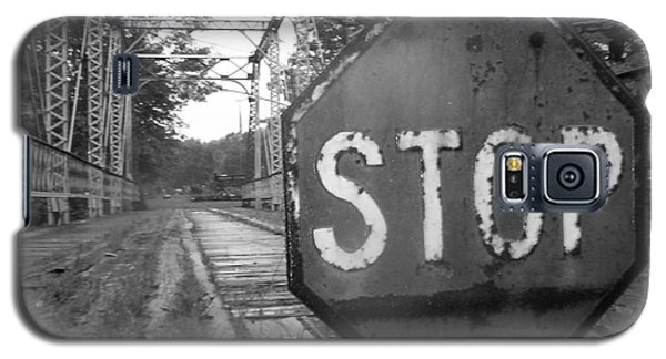 Stop Sign Galaxy S5 Case by Michael Krek