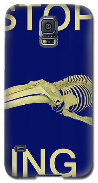 Stop Whaling  Galaxy S5 Case