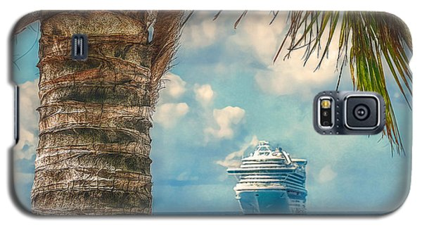 Galaxy S5 Case featuring the photograph Stopover In Paradise by Hanny Heim