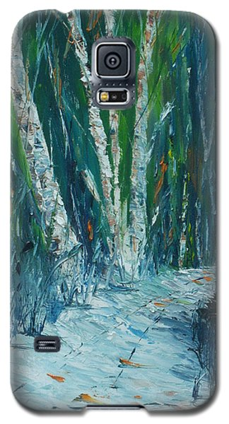 Stopping By Woods On A Snowy Evening Galaxy S5 Case