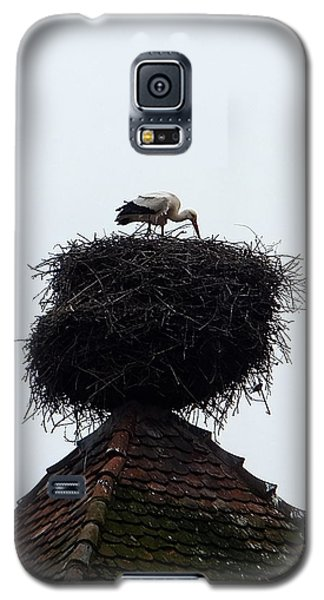 Galaxy S5 Case featuring the photograph Stork by Marc Philippe Joly