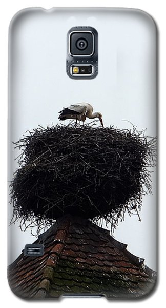 Stork Galaxy S5 Case by Marc Philippe Joly