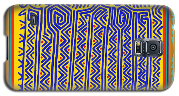 Galaxy S5 Case featuring the digital art Storks by Vagabond Folk Art - Virginia Vivier