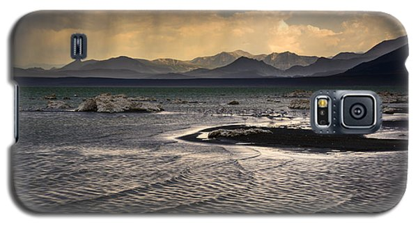 Storm At Mono Lake Galaxy S5 Case