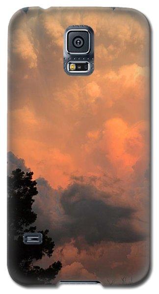 Storm At Sundown Galaxy S5 Case