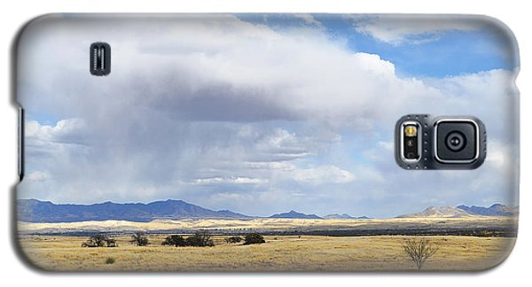Storm Brewing North Of Sonoita Az Galaxy S5 Case by Alan Lenk