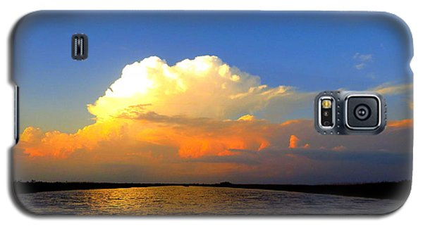 Galaxy S5 Case featuring the photograph Storm Clouds At Dusk by Phyllis Beiser