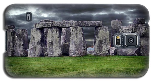 Storm Clouds Over Stonehenge Galaxy S5 Case