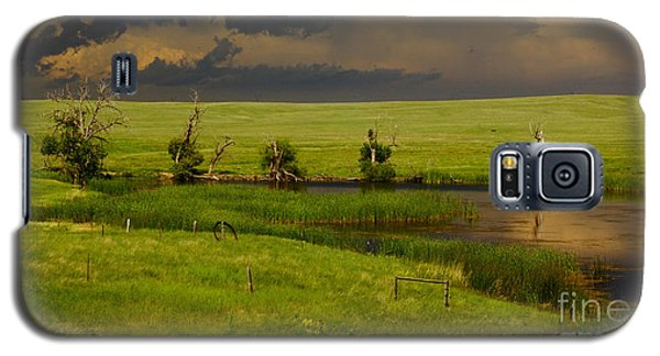 Storm Crossing Prairie 1 Galaxy S5 Case