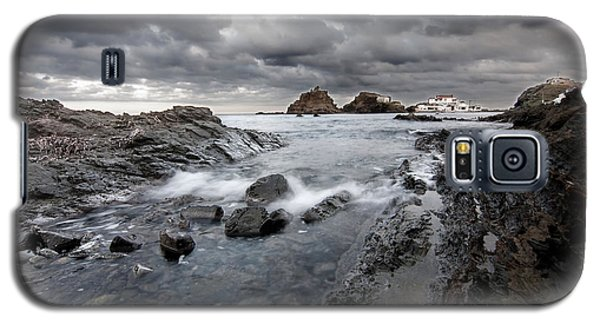 Storm Is Coming To Island Of Menorca From North Coast And Mediterranean Seems Ready To Show Power Galaxy S5 Case by Pedro Cardona