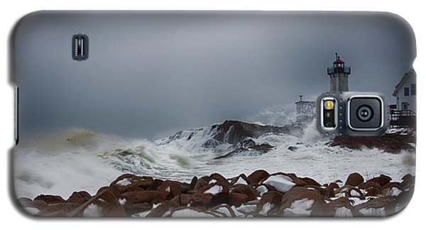 Storm Off Eastern Point Lighthouse Galaxy S5 Case