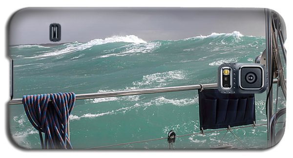 Storm On Tasman Sea Galaxy S5 Case by Jola Martysz
