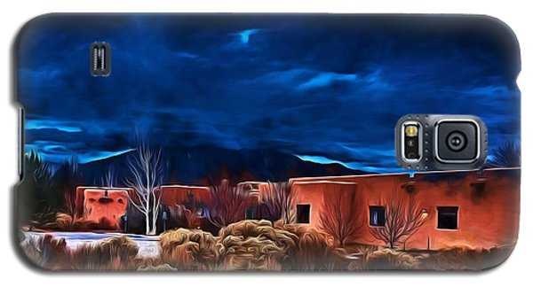 Storm Over Taos Lx - Homage Okeeffe Galaxy S5 Case