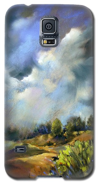 Storm Over The Hills Galaxy S5 Case