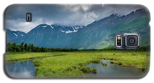 Storm Over The Mountains Galaxy S5 Case