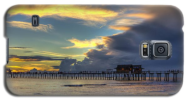 Storm Over The Pier Galaxy S5 Case