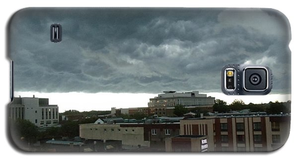 Galaxy S5 Case featuring the photograph Storm Over West Chester by Ed Sweeney