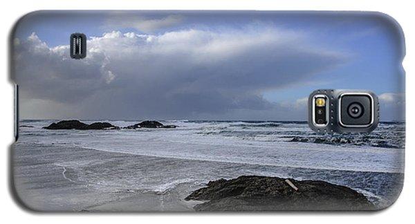 Storm Rolling In Wickaninnish Beach Galaxy S5 Case