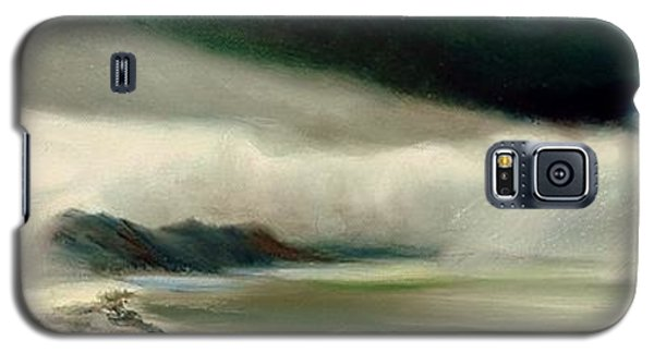 Galaxy S5 Case featuring the painting Storm by Sorin Apostolescu