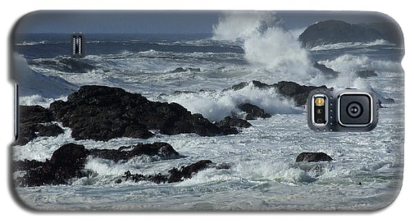 Storm Surf Galaxy S5 Case by Mark Alan Perry