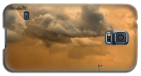 Galaxy S5 Case featuring the photograph Storm's A Brewing by Steven Reed