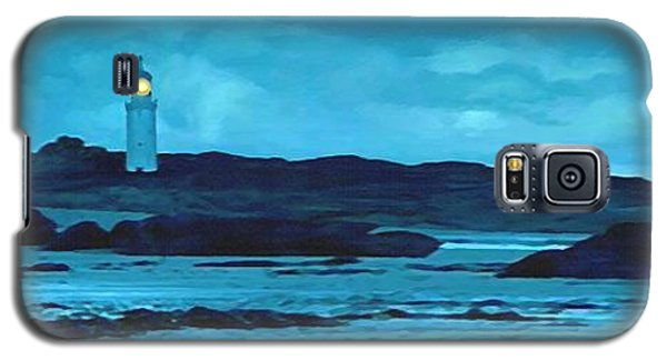 Galaxy S5 Case featuring the painting Storm's Brewing by Sophia Schmierer